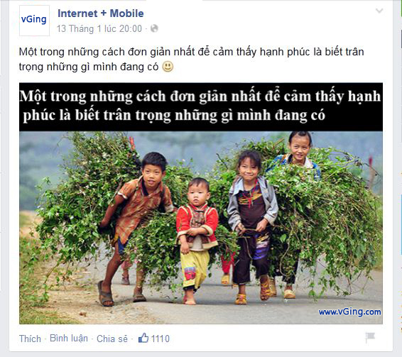Kinh nghiệm sáng tạo nội dung Fanpage Facebook